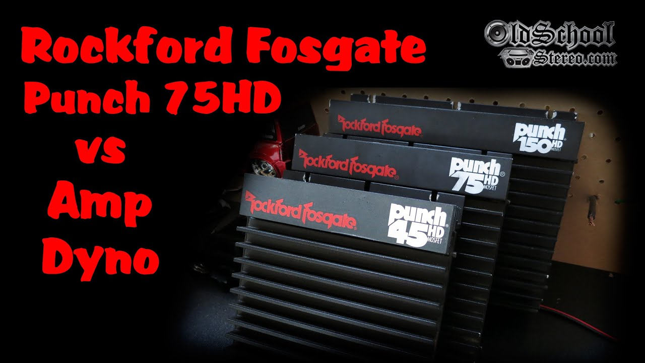 rockford fosgate r2 wiring diagram how to draw a bohr 1991 punch 75hd amp on the dyno youtube