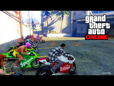 CHASSE A L'HOMME GTA 5 ONLINE