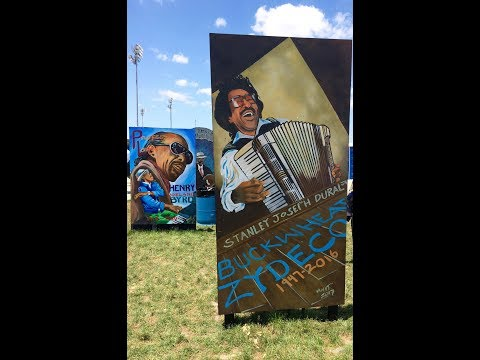 BUCKWHEAT ZYDECO SECOND LINE FUNERAL TRIBUTE JAZZ FEST NOLA 2017