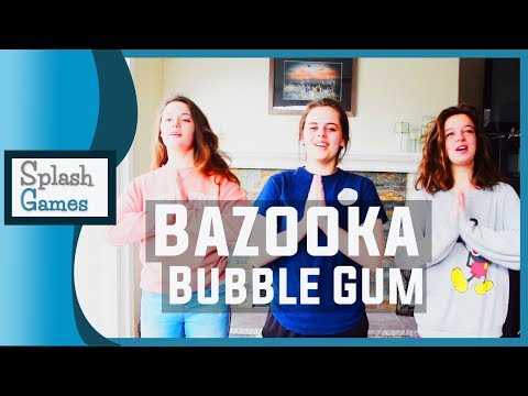 Camp Song: Bazooka Bubble Gum