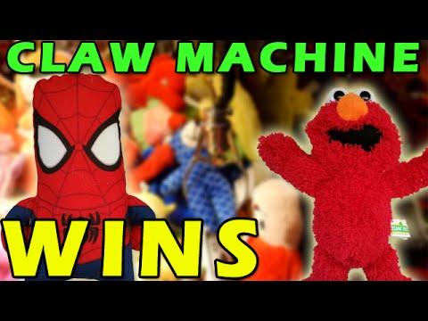 claw machine wins