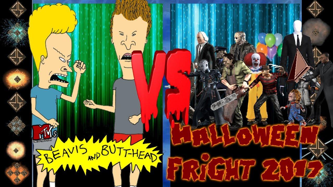 beavis and butthead (mtv) vs halloween fright 2017 - ultimate mugen