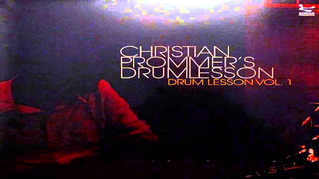 christian prommer drumlesson vol 1