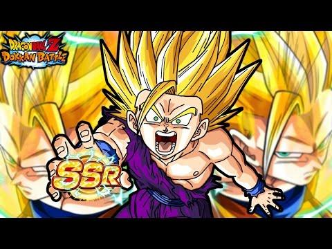 SUPER SAIYAN 3 ANIMATION! LR Gohan Dokkan Multi Summons! Dragon Ball Z Dokkan Battle