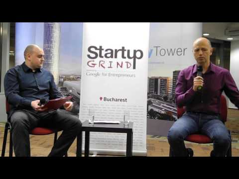 Startup Grind Bucharest Radu Georgescu