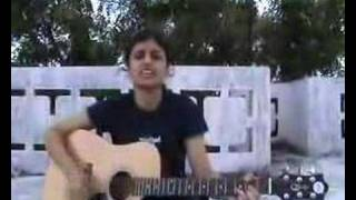 Tanha Dil of Shaan on guitar