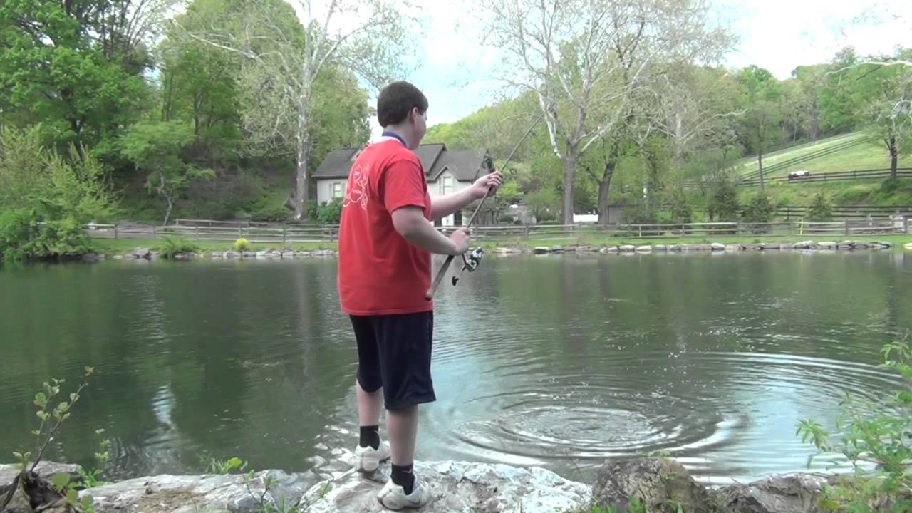 Spring largemouth bass fishing pa 2012 1 youtube for Fishing in pennsylvania