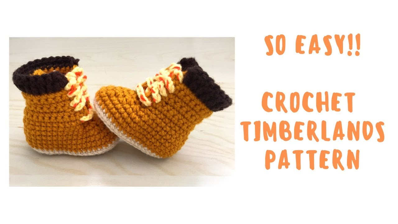 Crochet Baby Uggs!! Easy To Follow