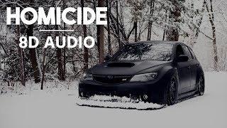 Logic - Homicide (feat. Eminem) [8D Audio + Bass Boost]