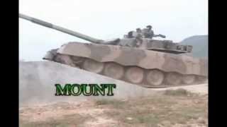 MBT-2000 Main Battle Tank of Myanmar Army