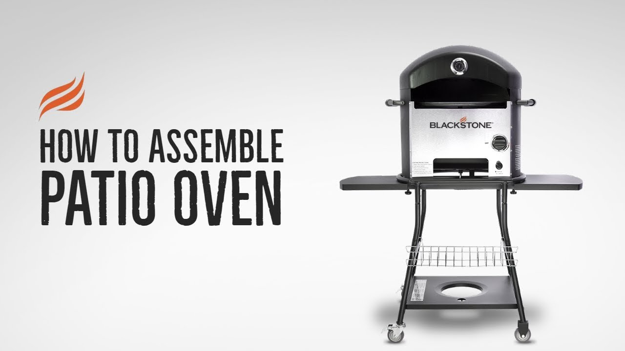 Blackstone Patio Oven Assembly