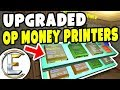 Upgraded OP Money Printers - Gmod DarkRP (I Made Over 2 Millions And Not One Raid Hidden Base?)
