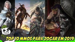 🐼🎮TOP 10 MMORPG que serão lançados em 2019 e além - Quais eu estou Hypando! 🐼🎮