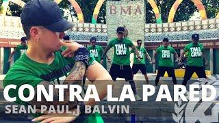 CONTRA LA PARED by Sean Paul,J Balvin | Zumba | Reggaeton | TML Crew Kramer Pastrana