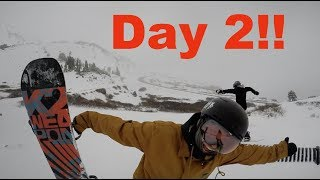 Snowboarding Loveland Pass Colorado - (Season 3, Day 2) #snowboarding