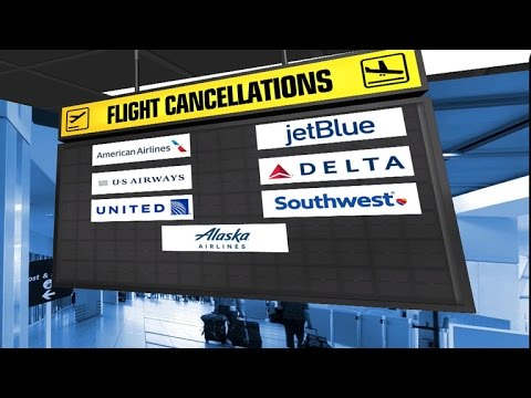 Thousands of flights canceled as snow storm hits Northeast