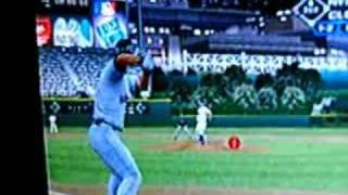 David Wright hits Double without bat