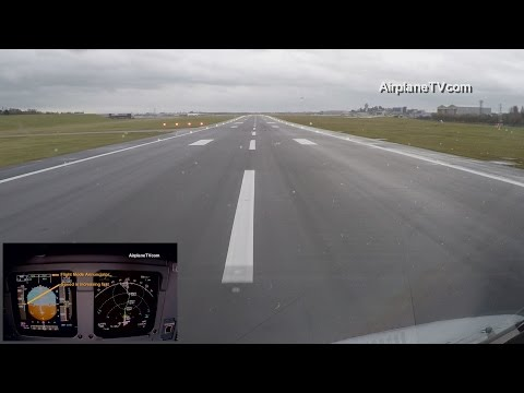 Must see: Takeoff Airbus A320 Birmingham BHX/EGBB with strong crosswind