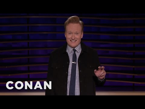 Conan Would Like To See Everyone In Comedy Become A World Leader - CONAN on TBS