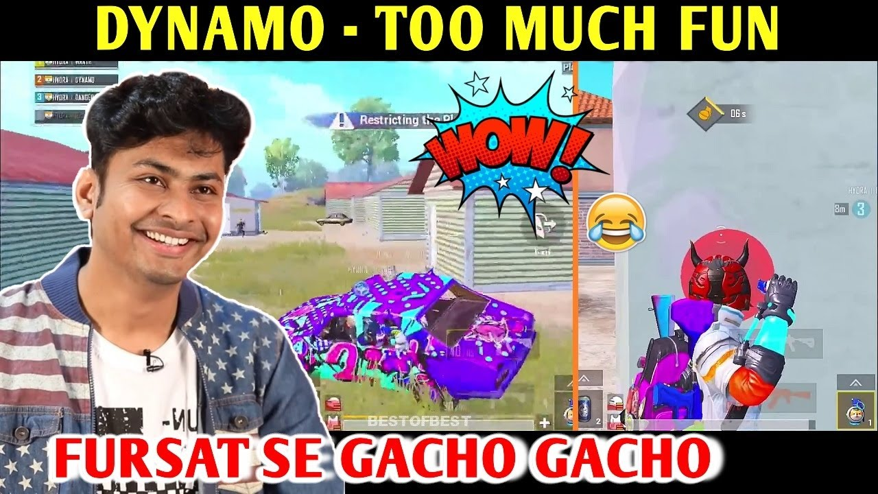 DYNAMO - TOO MUCH FUN | PUBG MOBILE | BEST OF BEST