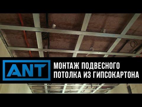 Подвесные потолки и навесные потолки из гипсокартона, цены