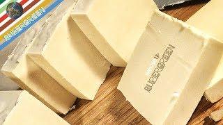 Sapone fatto in casa a freddo con olio extravergine d'oliva-Tutorial antica ricetta sapone  naturale