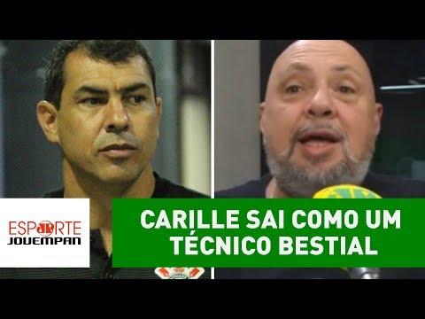 """""""CARILLE sai como um técnico BESTIAL"""", diz Nilson Cesar"""