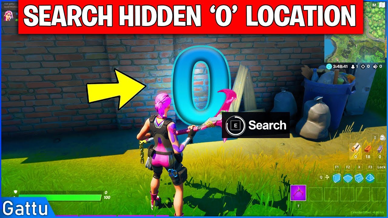 Fortnite Hidden Letters F O R T N I T E And Xp Drops