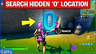 "Search Hidden ""O"" in the Open Water Loading Screen Location Guide - Fortnite Chapter 2 Season 1"