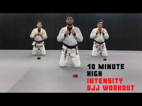 10 Minute HIIT Workout - CARDIO Workout // NO EQUIPMENT | Cobrinha BJJ