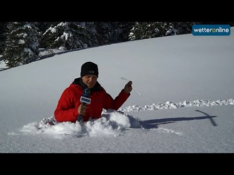wetteronline.de: Schneemassen im Oberallgäu (18.1.12016)