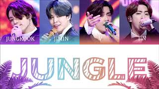 BTS (방탄소년단) - Jungle Color Coded Lyrics