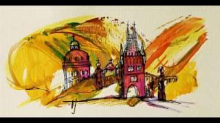 Jsem Františka Janečková, malířka:  PRAGUE 2 Original painting