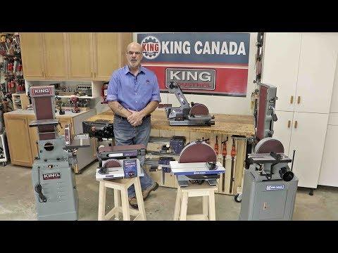 King Canada Belt & Disc Sanders