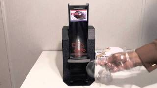 Push N Go Lid Dispensers by Taylortack llc. Patent Pending. McDs Dome Lids hd.mp4
