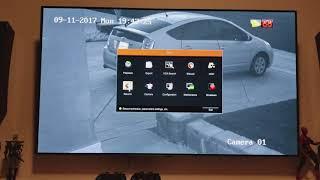 Hikvision DS-2CD2085FWD-I 8M camera & NVR DS-7616NI-I2/16P RESOLUTION OPTIONS