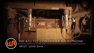 "[ Warm Audio ] WA-47jr FET Condenser Microphone - John Gaar ""Memphis"" - Omni Sound Studios"