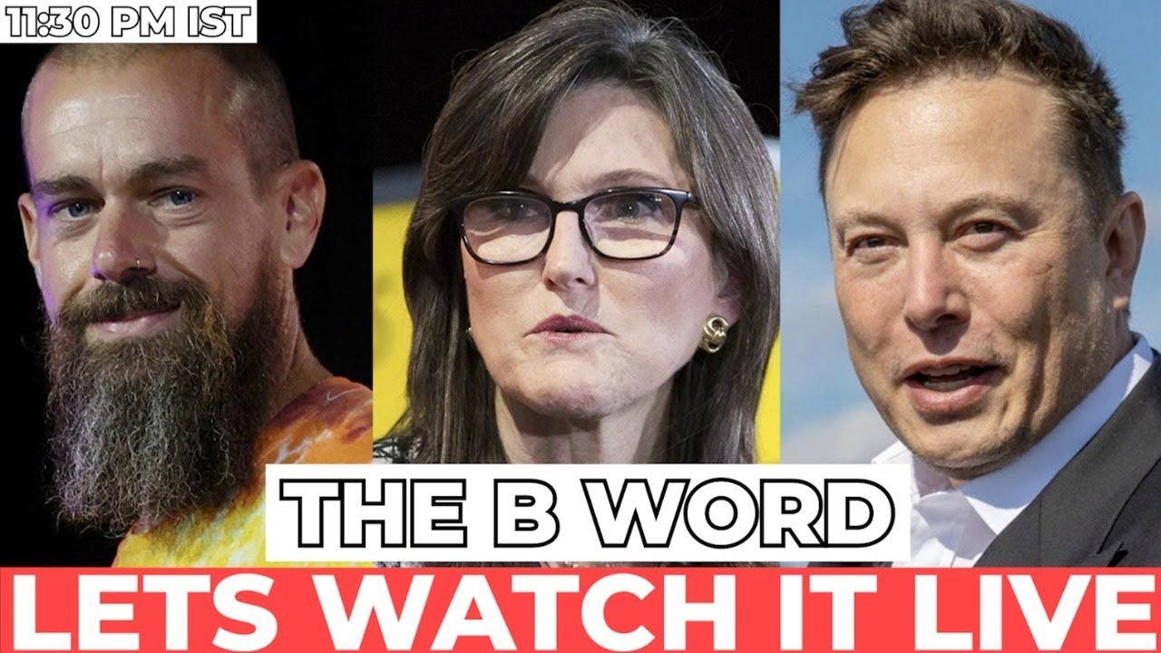 🚨 LIVE     LETS WATCH THE B WORD EVENT    CATHIE    ELON    JACK   