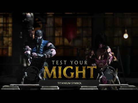 MORTAL KOMBAT X BOYFRIEND VS GIRLFRIEND TEST YOUR MIGHT
