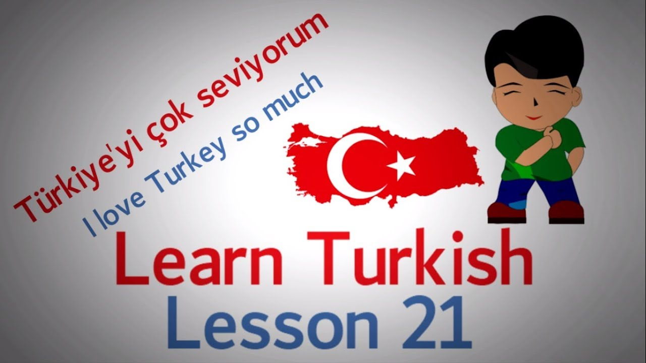 Learn Turkish Lesson 21 - Conversation Phrases (Part 1)