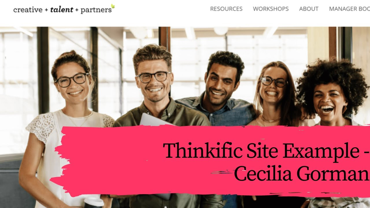 ???????? Thinkific Site Example |  Vogue (Manhattan) Theme | Manager Boot Camp