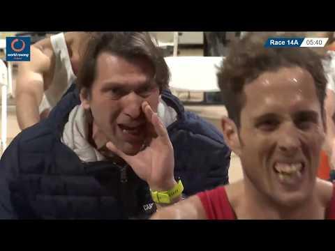2019 World Rowing Indoor Champs: LMU23, MU23