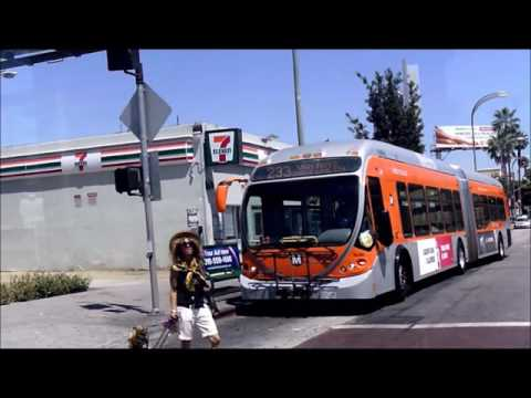 L A  Metro, Orange Line, North Hollywood,  to  Chatsworth, Valley, FULL