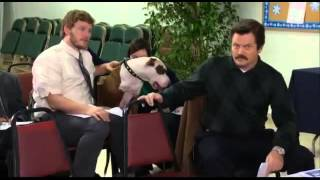Aubrey Plaza - Talking Dog (Parks & Recreation Season 4 Blooper)
