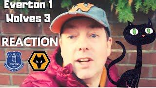CAT-TASTIC 🐱 Everton 1-3 Wolves REACTION 😎