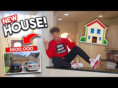 I FINALLY BOUGHT MY DREAM HOUSE! 🏡 JUSTKRYPTIC OFFICIAL HOUSE TOUR!