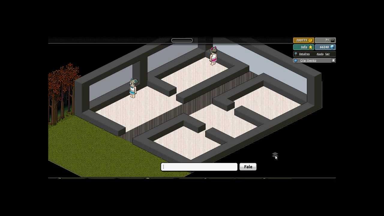 Casas Habblet ~ Construindo Casa Moderna YouTube