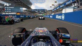 Codemasters F1 2014 Exclusive Gameplay - Red Bull Ring, Sebastian Vettel