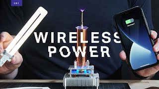 The quest for Nikola Tesla's wireless power technology