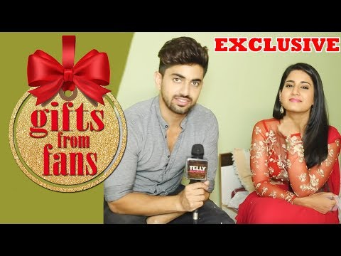 Aditi Rathore & Zain Imam Receive Gifts From Fans | Telly Reporter Exclusive thumbnail